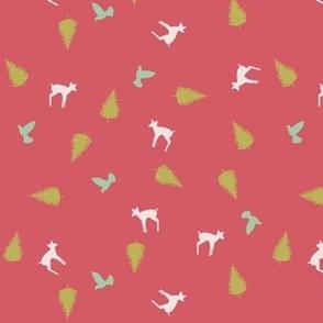 deer toss coral