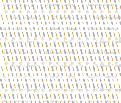 Kitchen Whimsy Diagonal Stripe