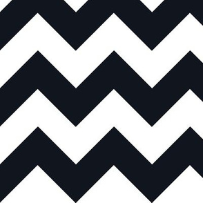 Chevrons Black & White