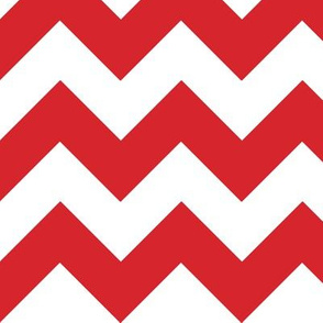 Chevrons Red and White