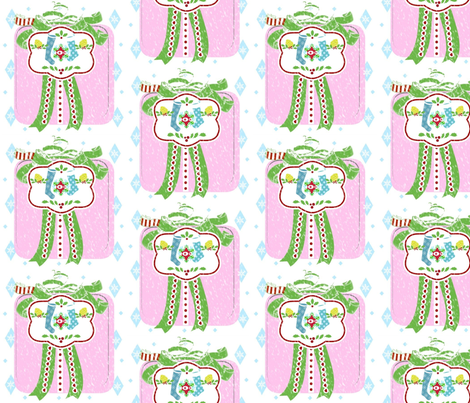 Holiday Gift Stockings -Large fabric by drapestudio on Spoonflower - custom fabric