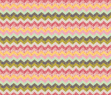cheater chevron quilt smaller scale fabric by mypetalpress on Spoonflower - custom fabric