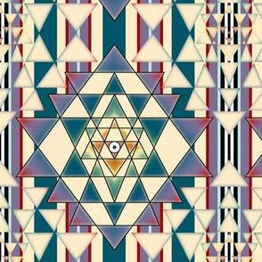 Sri Yantra Stripe