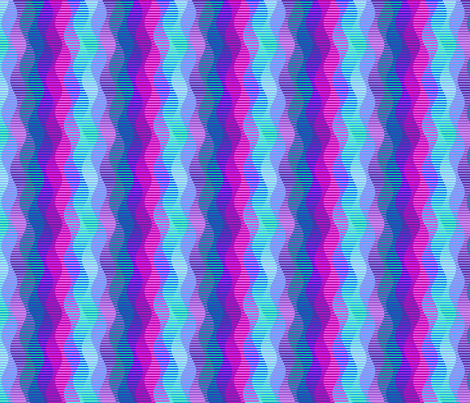 interleave3-blue-green-purple fabric by lorrietweet on Spoonflower - custom fabric