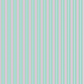 Serendipity Stripes #6 Mint Green/Pink