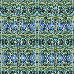 Medieval Wiggle Plaid