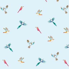 Flying Mockingbirds