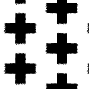 ikat crosses