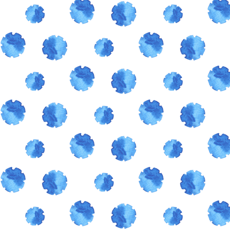 Watercolor Gears fabric by katebutler on Spoonflower - custom fabric