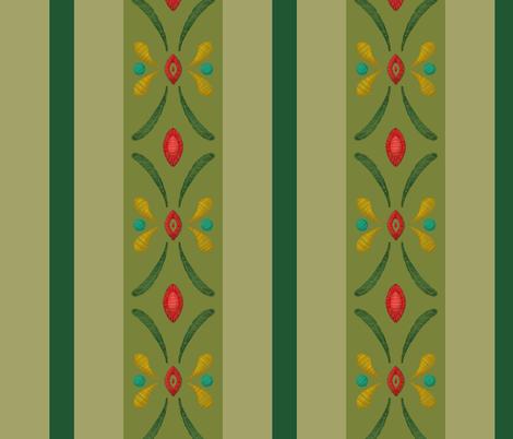 Anna Green fabric by aimee on Spoonflower - custom fabric