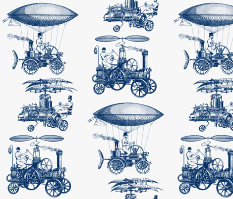 3machines-ch fabric by in_wonderland on Spoonflower - custom fabric