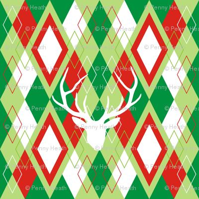 Reindeer Argyle