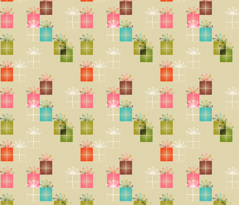 presents fabric by tarabehlers on Spoonflower - custom fabric