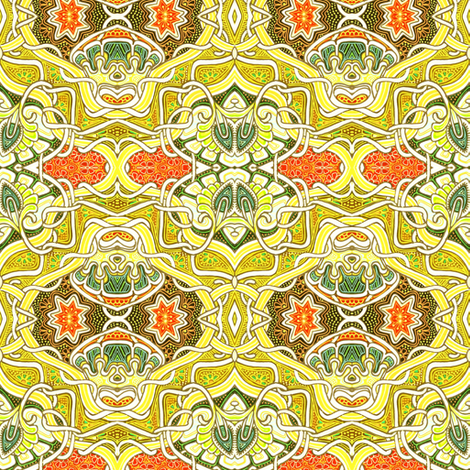 Not Quite Traditional fabric by edsel2084 on Spoonflower - custom fabric
