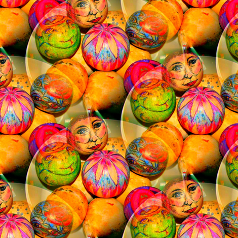 Original Gourds fabric by mugglz on Spoonflower - custom fabric