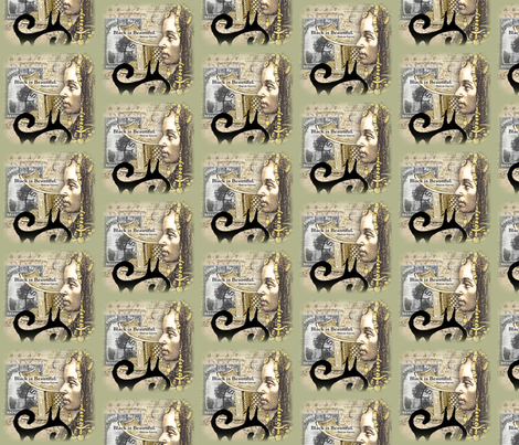 Sala_Faruq__-_Black_Is_Beautiful_2 fabric by salafaruq on Spoonflower - custom fabric
