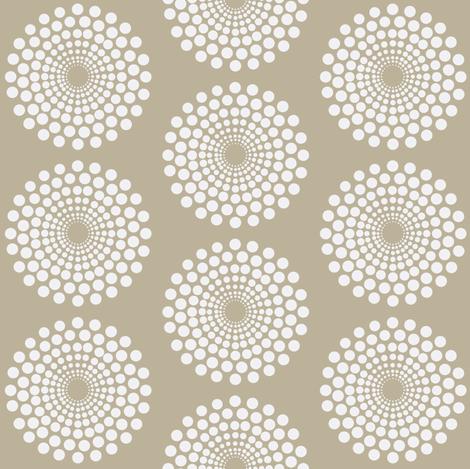 mod beach circle fabric by keweenawchris on Spoonflower - custom fabric