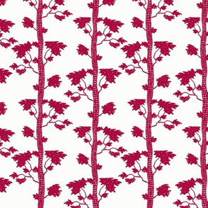 tree stripe red