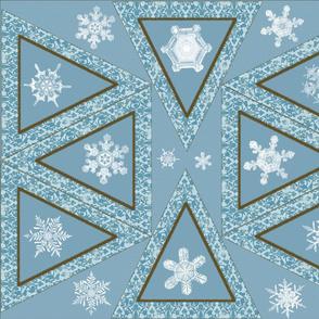 Snow flake Pennant