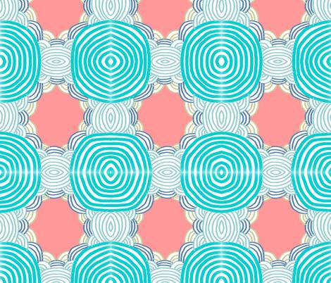 shell fabric by kimmurton on Spoonflower - custom fabric