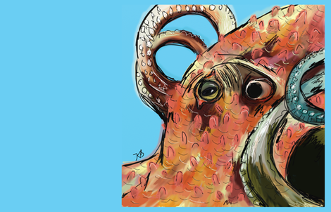 OctopusEye fabric by kristinbell on Spoonflower - custom fabric