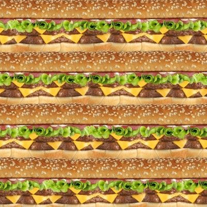 Cheeseburger Stripe