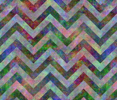 Chevron batik fabric by spacefem on Spoonflower - custom fabric