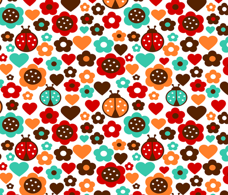 Happy Patch fabric by simple_felicities on Spoonflower - custom fabric