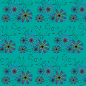 flowers_on_teal