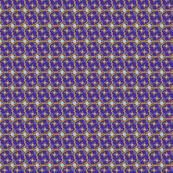 RING-deep solid purple -sky blue