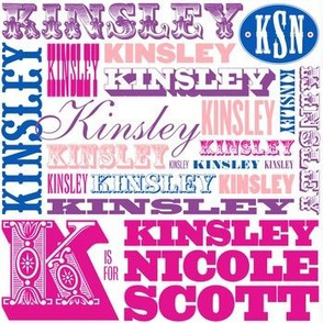K is for Kinsley (Custom)
