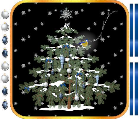 Hanging Xmas Tree (Night)