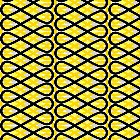 Frill - Yellow fabric by siya on Spoonflower - custom fabric
