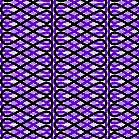 Frill - Violet fabric by siya on Spoonflower - custom fabric