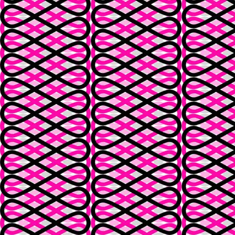 Frill - Pink fabric by siya on Spoonflower - custom fabric