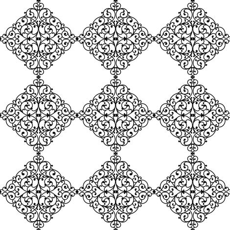 watchtower window fabric by keweenawchris on Spoonflower - custom fabric