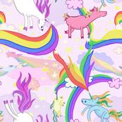Unicorn Repeating Pattern