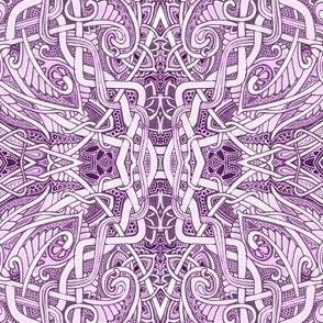 Twisted Lavender Batik Universe