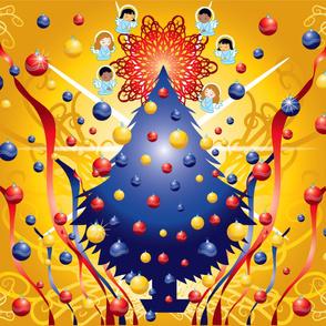 christmas_tree wall hanging