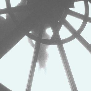 Orsay Clock Mural Panel 3 of 5