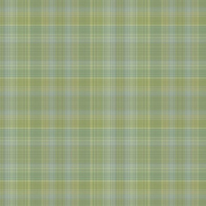 Lemon Lime Soda Layered Plaid