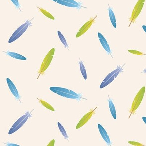 Budgie Feathers