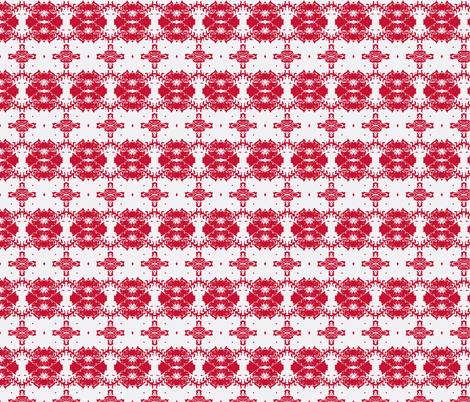 Ruffled Petunias fabric by serendipity_textiles on Spoonflower - custom fabric