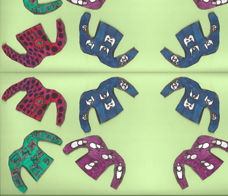 its raining sweaters fabric by giathechief on Spoonflower - custom fabric