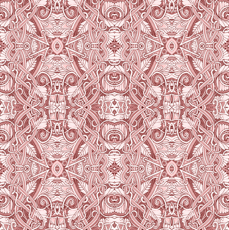 Tangled Towers fabric by edsel2084 on Spoonflower - custom fabric