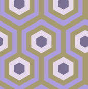 Hex - Plum and Gold