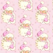 Hi Santa! Christmas Light PINK! Vintage size med