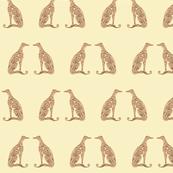 Greyhound - Seeing Double - Gold & Bronze