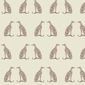 Greyhounds - Seeing Double - Warm Neutrals