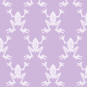 Fabulous Frogs - Lovely Lilac (small-scale version)
